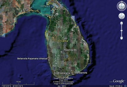 Maps and geography kuruppukanda the spirit of a village satelite image of sri lanka gumiabroncs Choice Image